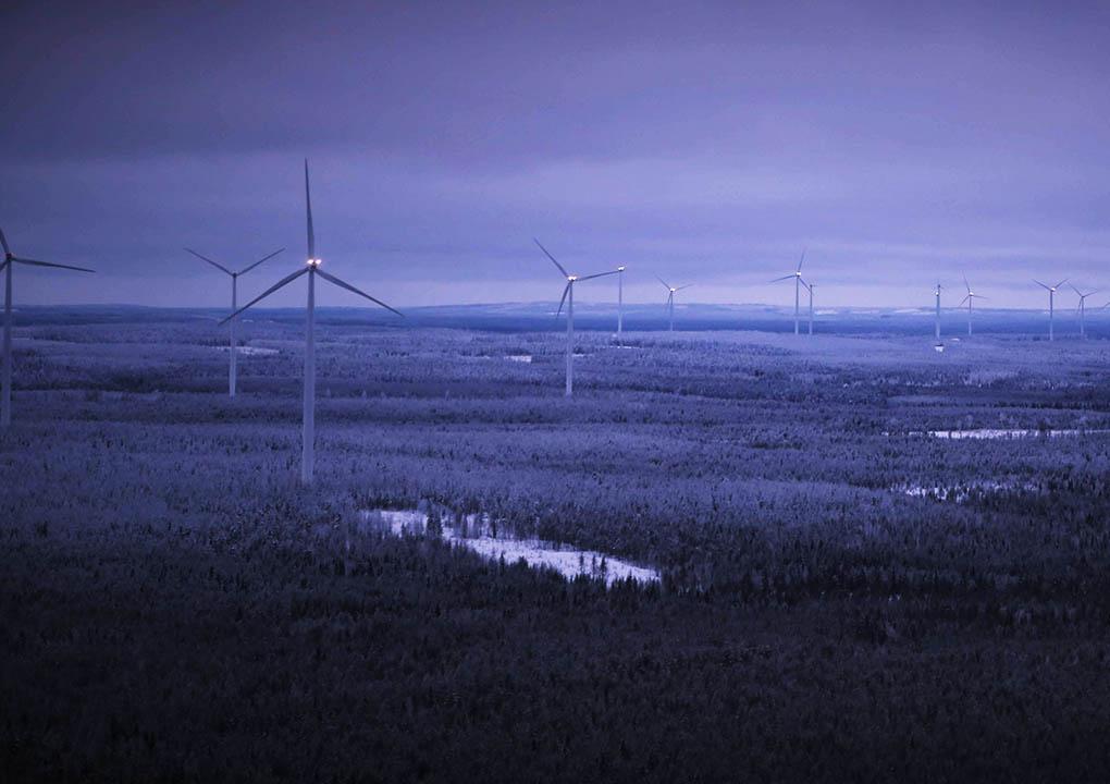 Kooninkallio Wind Farm, Finland