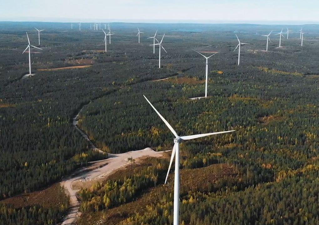 Isoneva wind farm, Finland