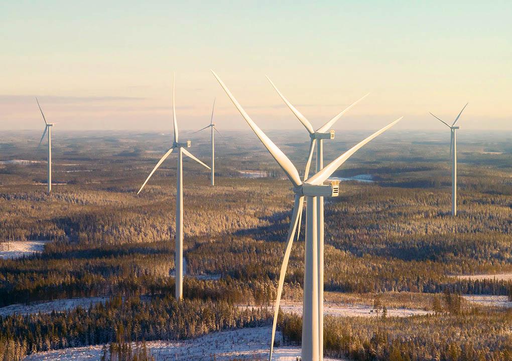 Kivivaara-Peuravaara Wind Farm, Finland