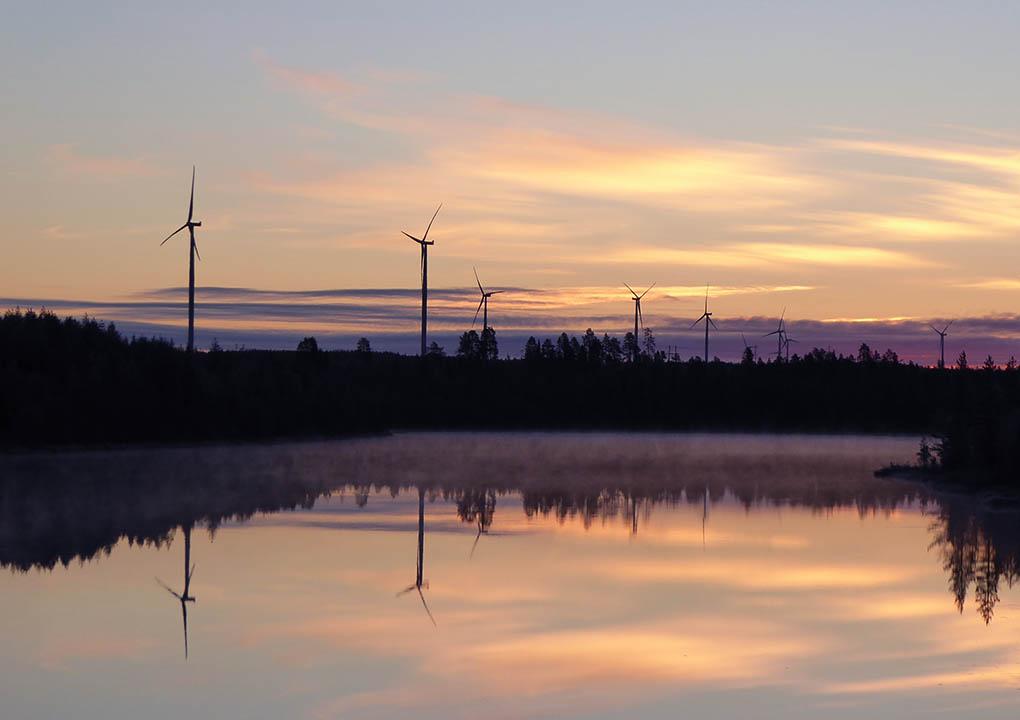 Myllykankaan tuulipuisto, Suomi